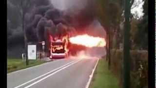 Film Brand in een aardgasbus, 29 oktober 2012, Wassenaar