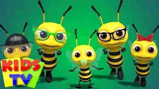 Bee Finger Family Nursery Rhymes Kids Songs Baby Rhymes kids tv S03 EP15