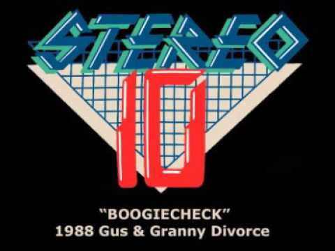 Brisbane Radio History: STEREO 10 BOOGIECHECK - Gus & Granny Divorce + Dial-A-Random Compilation