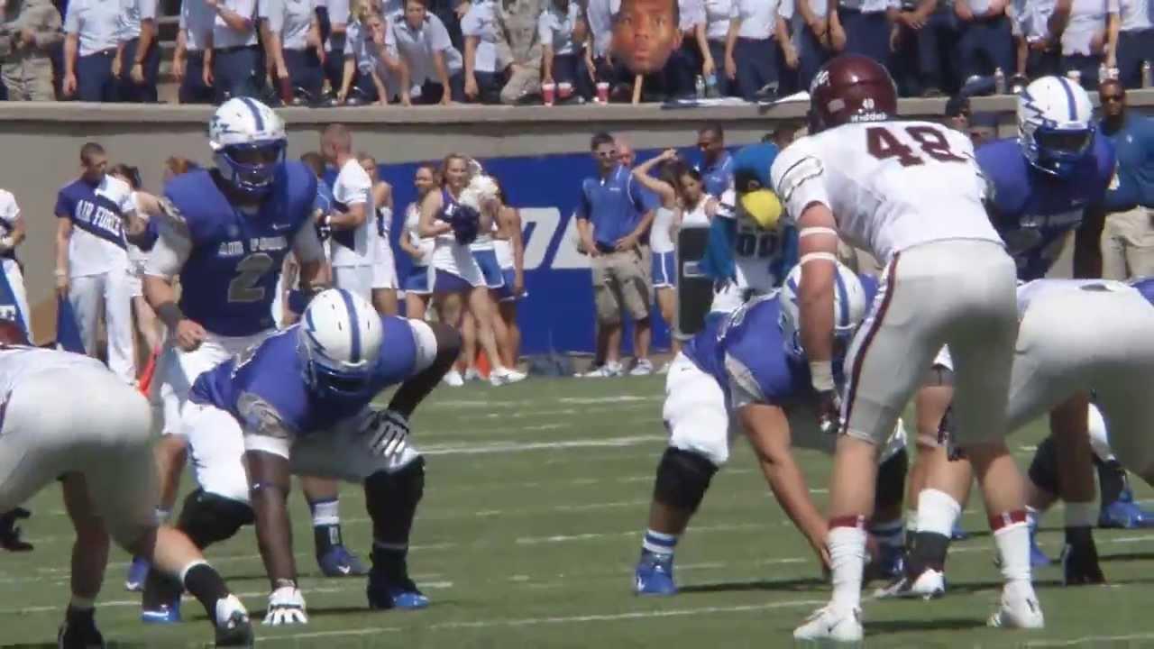 Air Force Football Vs, Colgate Highlights - YouTube