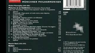 ムソルグスキー:組曲「展覧会の絵」:チェリビダッケ/ミュンヘン・フィル(1993)