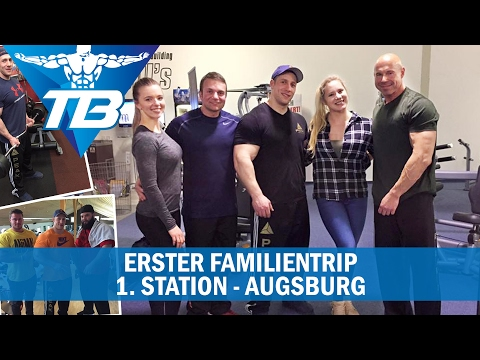 Fam. Trip/ Rcken- Bizeps Training / Bikini VS Fitness Figur/ Eddis Fitness- Augsburg [#1/2]