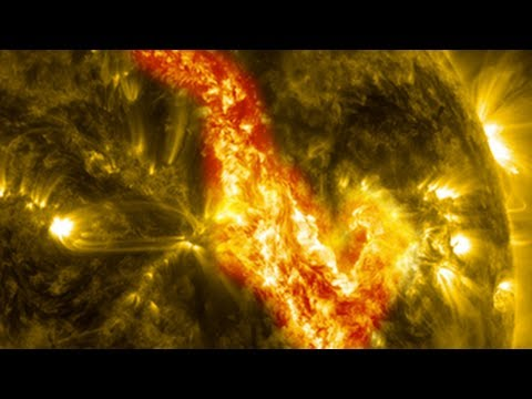 NASA   Canyon of Fire on the Sun