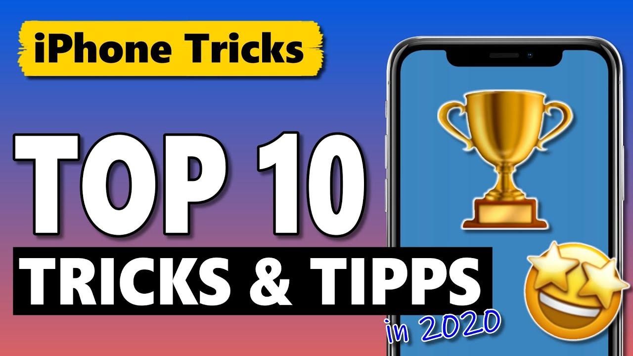Top 10: Das waren die beliebtesten iPhone Tricks in 2020