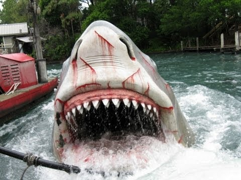 Universal Studios Orlando Jaws Ride HD POV (FULL RIDE)  Last day!