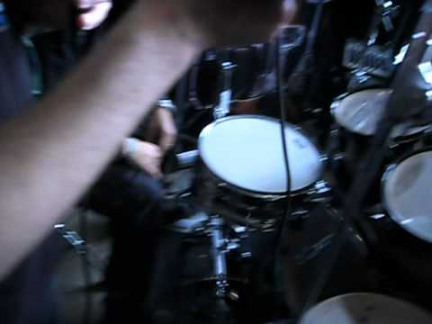 Blast Beat competition at Hellfest 2012