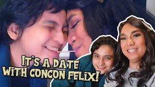 DINNER DATE WITH CONCON FELIX (KILIG OVERLOAD) | CHAD KINIS VLOGS