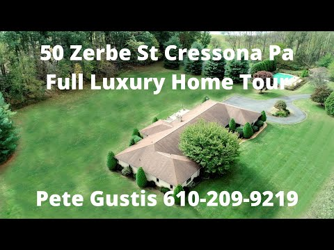 50 Zerbe St Cressona Pa Luxury Home Tour From Pete Gustis 610 209 9219