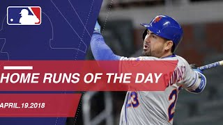 Check out all 24 homers from 4/19/18