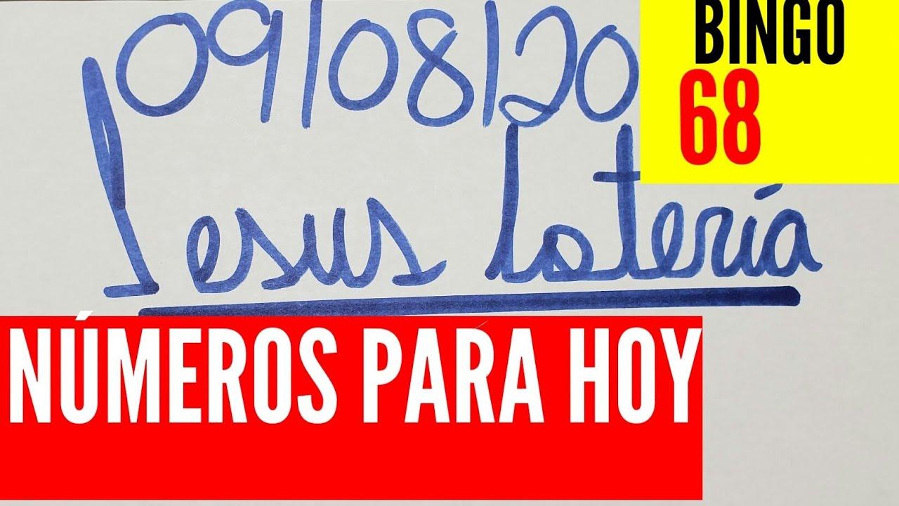 NUMEROS PARA HOY 09/08/2020 DE AGOSTO PARA TODAS LAS LOTERÍAS !!! JESUS LOTERIA.