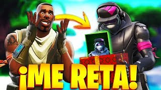 CARAMELITO RETA ME for the NEW SKIN TENSION IN FORTNITE and Paso THIS!.. 🔥😱