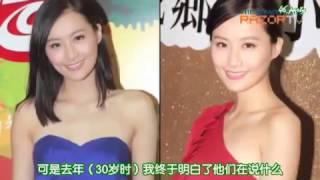 大美女陳法拉的流利英語訪問【中文字幕】英文好的演員明星