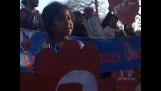 Too cute alert! Video: Power to the people! #not1more #hungry4relief