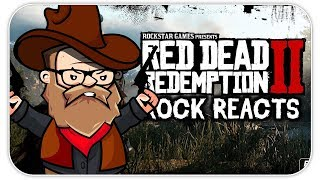 ROCK REACTS: Red Dead Redemption 2: Official Trailer #2
