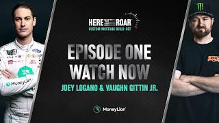 Joey Logano & Vaughn Gittin Jr. Kick Off the Build Off Series | MoneyLion