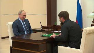О достижениях и планах Чеченской республики Рамзан Кадыров доложил Владимиру Путину.