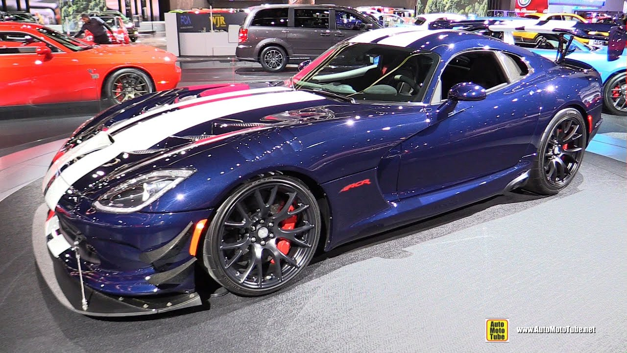2016 Dodge Viper ACR   Exterior And Interior Walkaround   2016 Detroit Auto  Show   YouTube