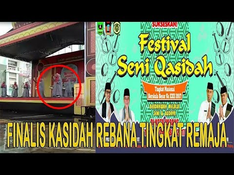 finalis-kasidah-rebana-tingkat-remaja-dari-provinsi-riau- -festival-seni-qasidah-di-sumatera-barat