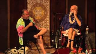 Ram Dass and Larry Brilliant Thanksgiving Satsang