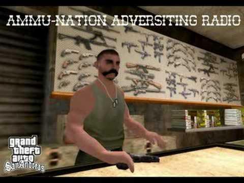 Ammu-Nation Reklama