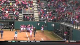 05/05/2013 LSU vs Georgia Softball Highlights