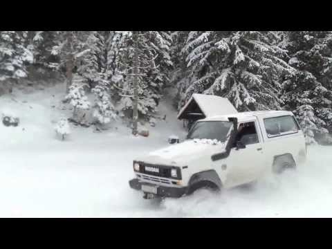 Nissan Patrol 3.3 td intercooler x2 Blidinje