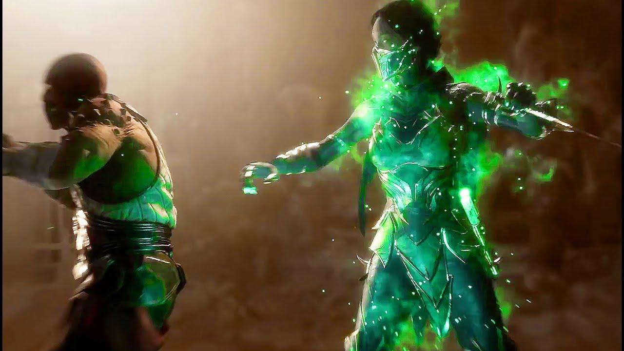 Mortal kombat 11 - JADE vs. Baraka/Sonya Gameplay (2019) MK11
