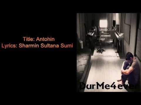 Ontohin With Lyrics ~ Habib Wahid (Tumi Shondharo Meghmala)