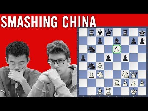 Smashing China - Ding Liren vs Duda | Chess Olympiad 2018 Batumi