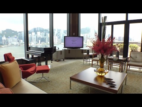 【4K】InterContinental Hong Kong, Presidential Suite (Retake in 2016)