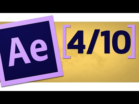 [4/10] Learn After Effects in 30 min - Complete your first project | Animating the rectangle ✔