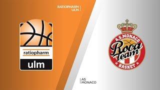 ratiopharm Ulm - AS Monaco Highlights   7DAYS EuroCup, RS Round 9