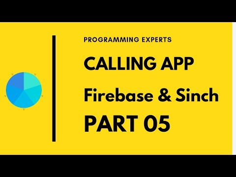 #5 App Calling using Firebase & Sinch SDK Android Studio Tutorial