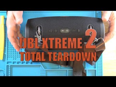 JBL Xtreme 2 - Total Full Complete Teardown