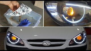 Как это сделано Hyundai Getz Bi Xenon // Светодиодное приложение