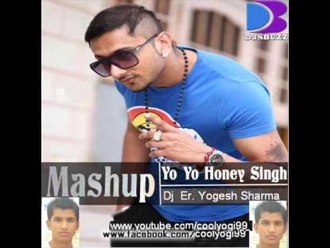 Yo Yo Honey Singh mash-up 2012-2013 (all hits dj songs)