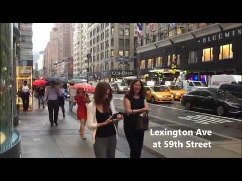 Sounds of New York City (59th Street at Lexington, Park and 5th Avenue)