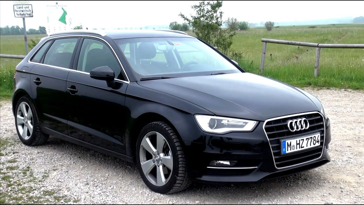 2014 Audi A3 2 0 Tdi 150 Hp Test Drive Youtube