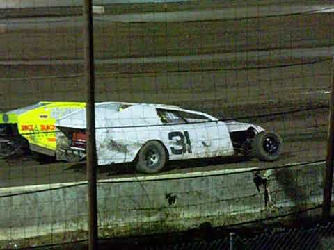 IMCA Modified Main Red Flag Barona Speedway 9-9-2017