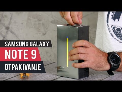 Unboxing: Samsung Galaxy Note 9