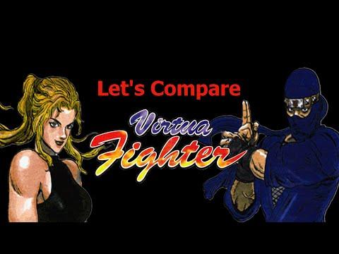 Let's Compare ( Virtua Fighter )