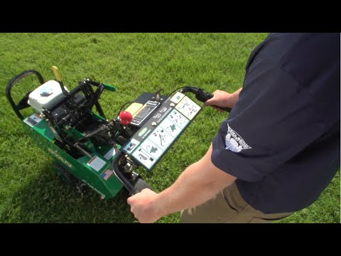 How To Use Your New Ryan Jr Sod Cutter Operating Demonstration Youtube