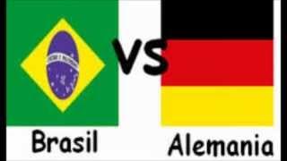 A que Hora Juega Brasil vs Alemania en tu pais