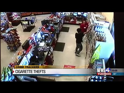 Crime Trackers: PCSD needs help to identify cigarette thieves