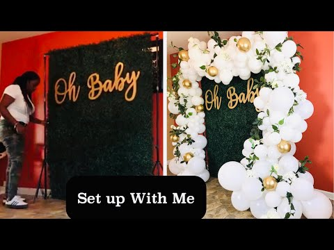 HOW TO STYLE BOXWOOD HEDGE WITH A BALLOON GARLAND | UNBOXING | GIVEAWAY WINNER