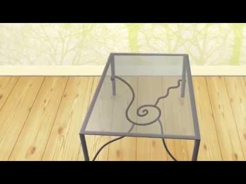 Virginiart muebles de forja dise o en forja youtube - Muebles de forja en sevilla ...