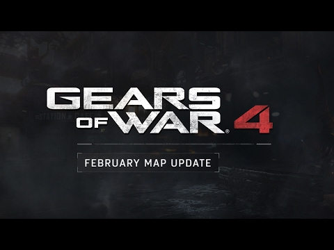 Gears of War 4 Map Update - Impact Dark and War Machine
