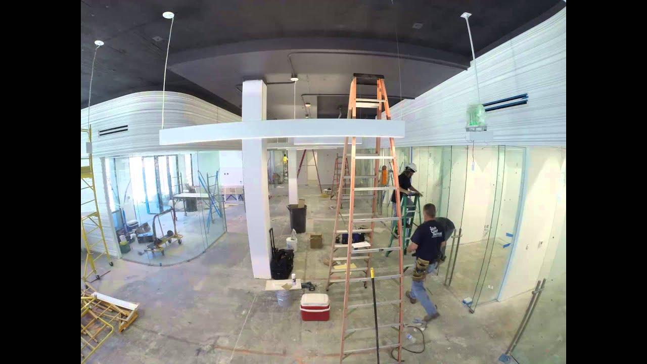 Oxy HCC Interior Construction Timelapse