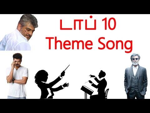 டாப் 10 Theme Song  | Tamil cinema latest news | Cineliker