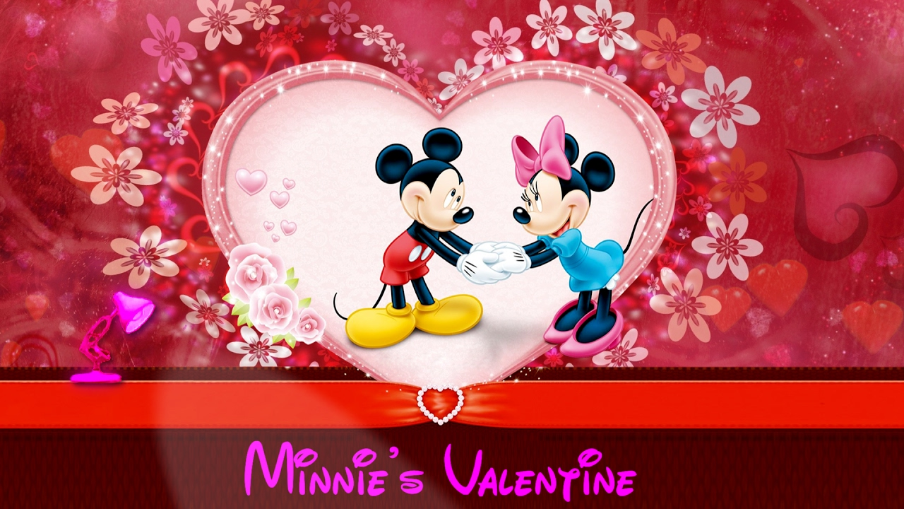 519-Minnie's Valentine Mickey Mouse Clubhouse Spoof Pixar ...